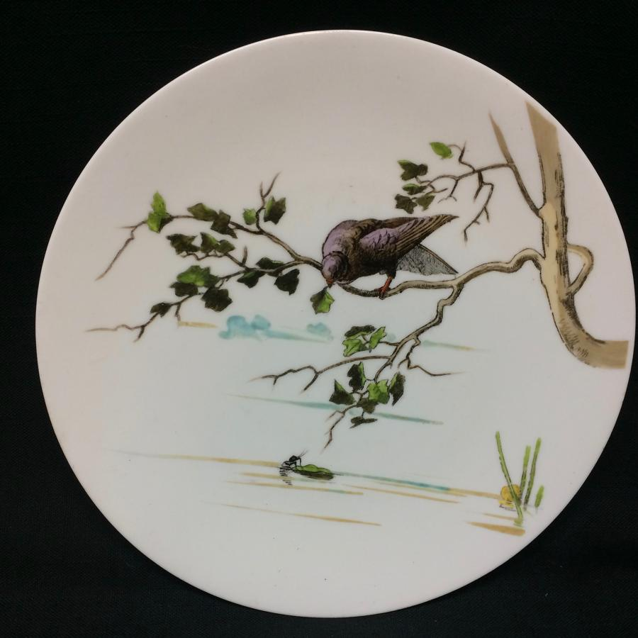 1880 Fontaine's Aesops Fables ~ The Dove and the Ant
