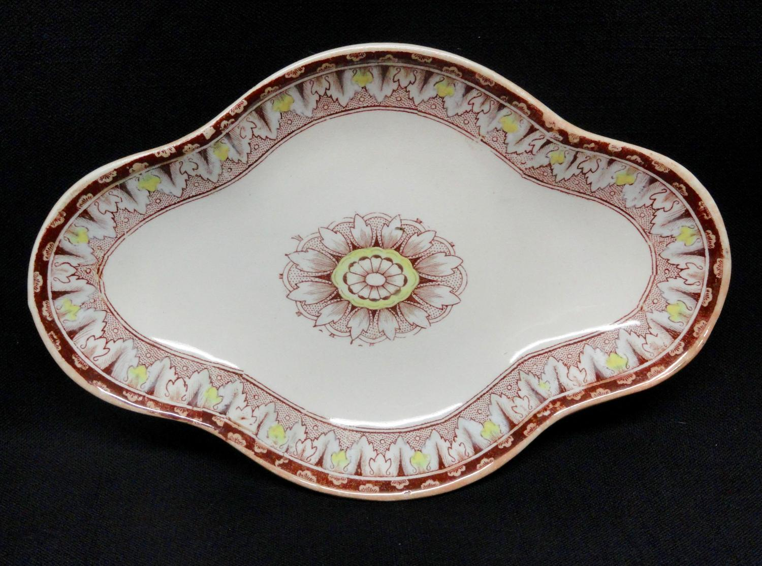 Outstanding English Pickle Dish ~ CYPRUS 1885