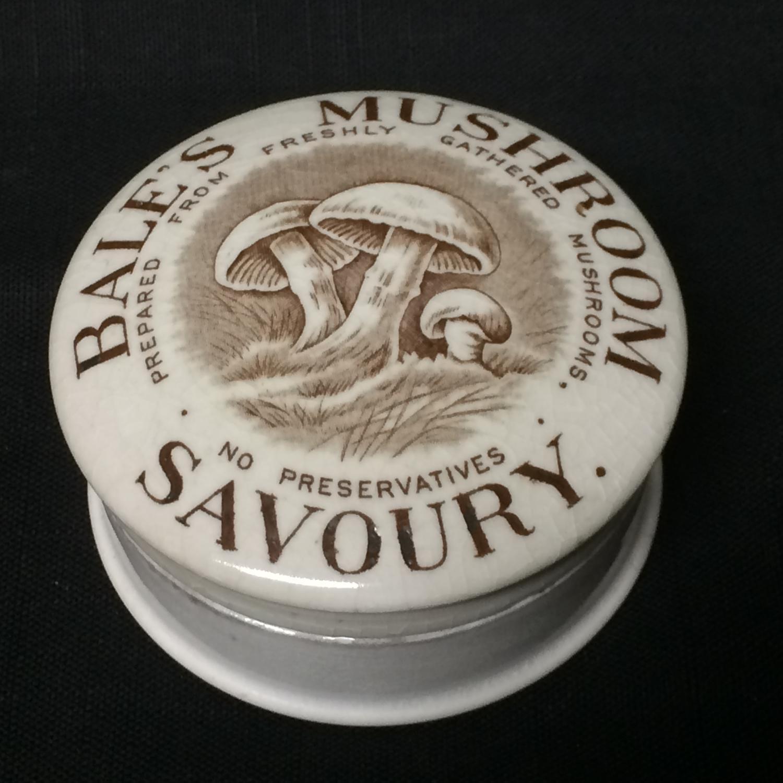Bale's Savoury Mushroom Pot and Lid