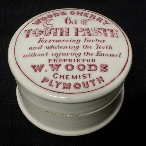 English Quack Medicine CHERRY Tooth Paste ~ 1890
