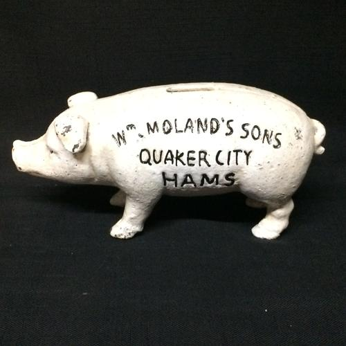 Quaker City Hams Hog Pig ~ c1950
