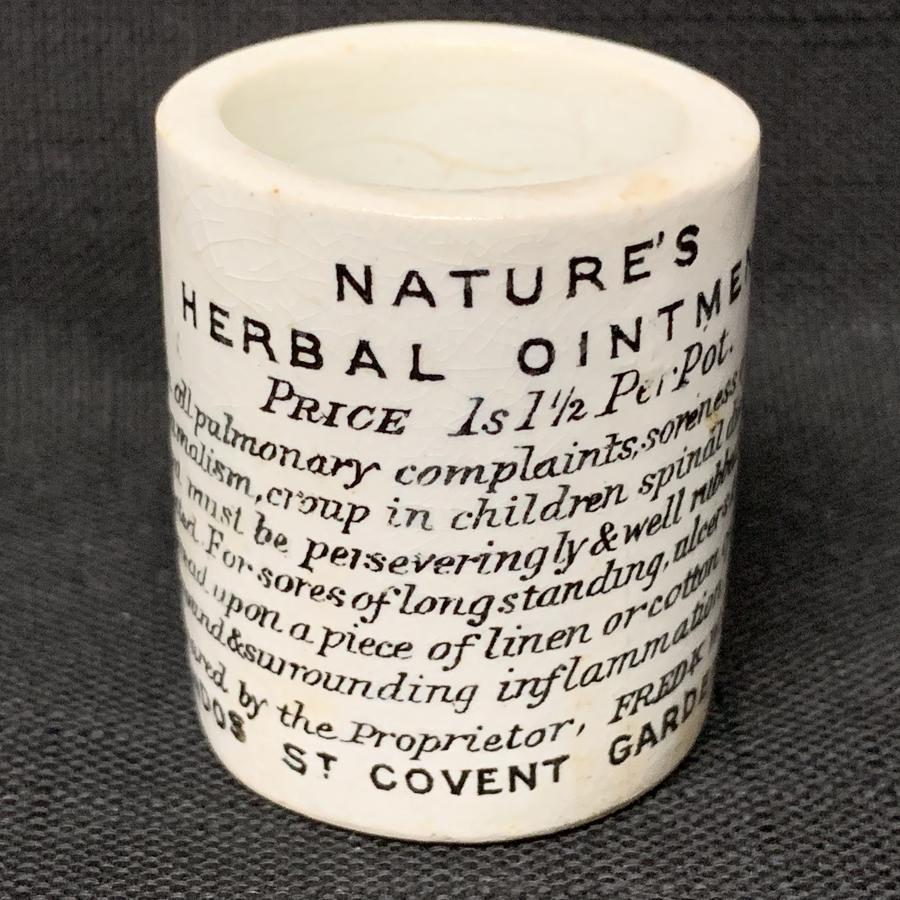 Quack Medicine ~ Covent Gardens Snake Oil Ointment ~ 1880