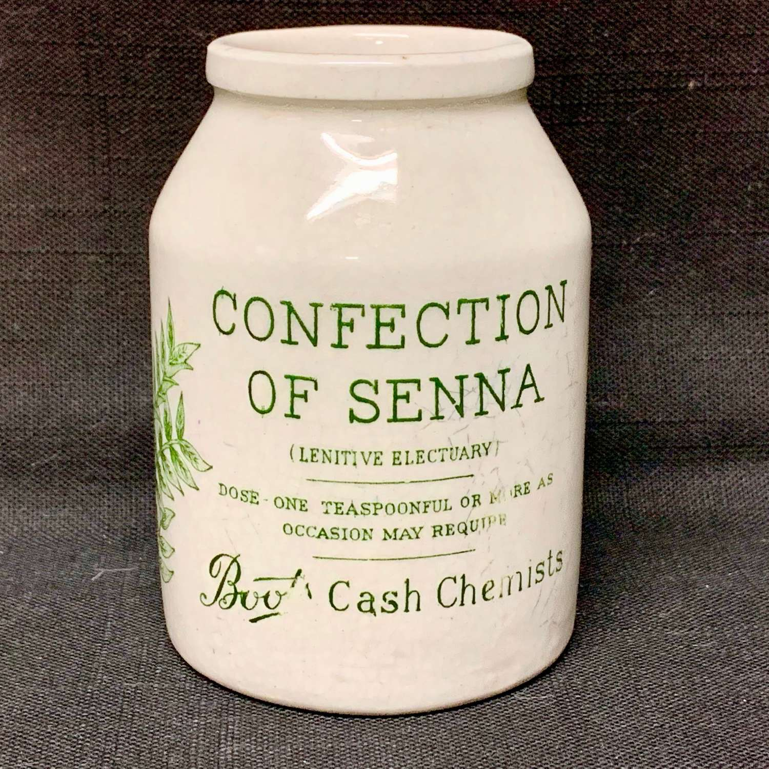 Quack Medicine ~ Confection of SENNA ~ 1890 ~ Intestinal Ailments