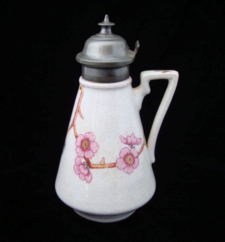 Aesthetic Movement Era Syrup or Molasses Pot ~ 1880