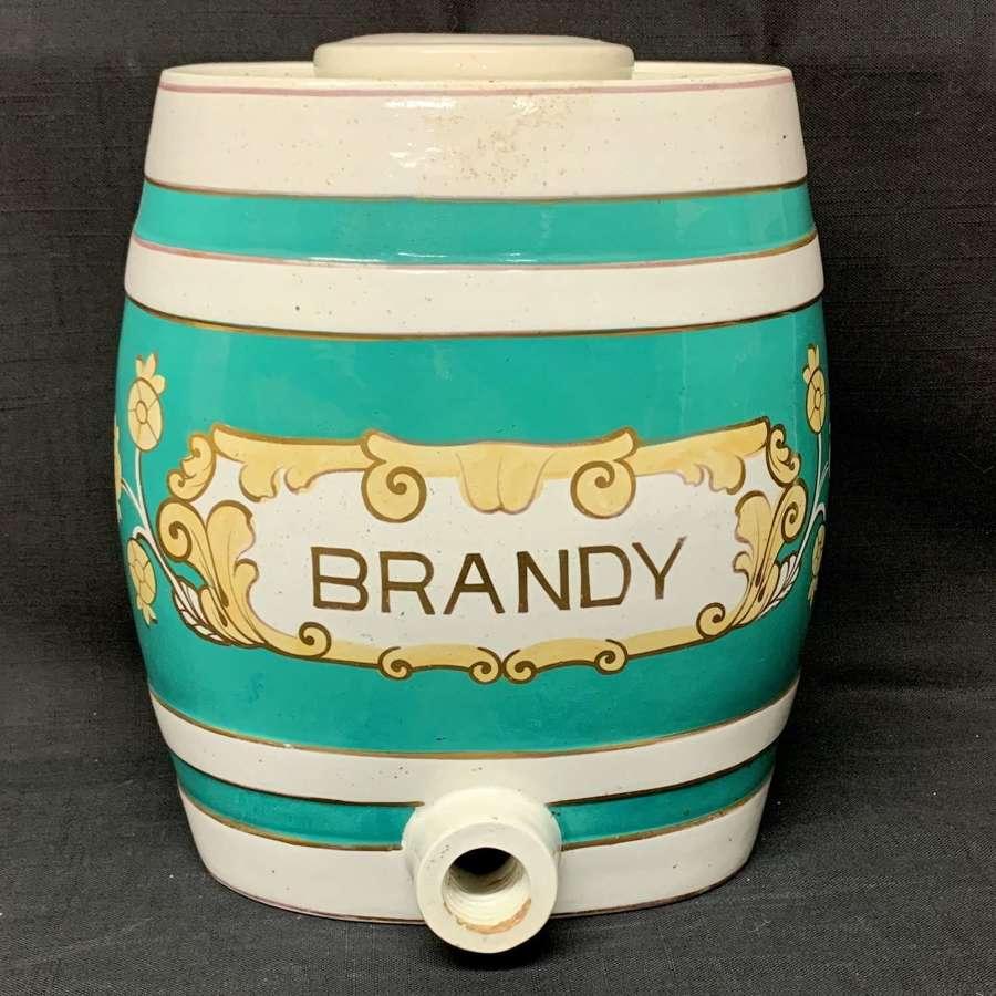 Antique Brandy Whiskey Barrel ~ c 1890