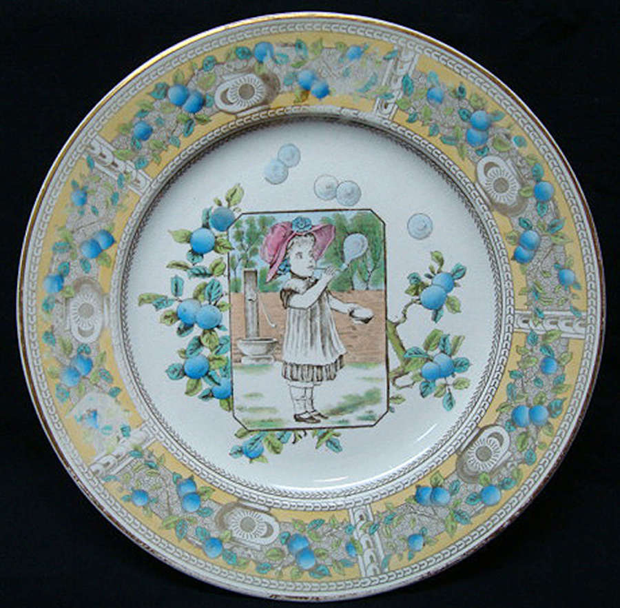 Best Aesthetic Plate ~ Mother Hubbard 1885